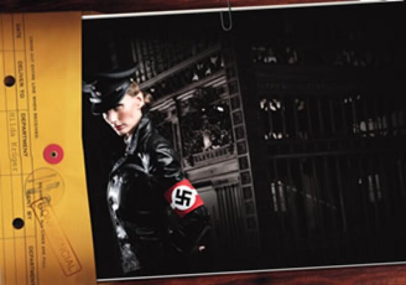 En 1941 llegó a México Hilda Krüger, una actriz enviada directa del poderoso Dr. Joseph Goebbels. (Foto y post producción:Luis Delfín/Producción:Max Olvera/Maquillaje:Tania Salazar/Vestuario:José Ramón)