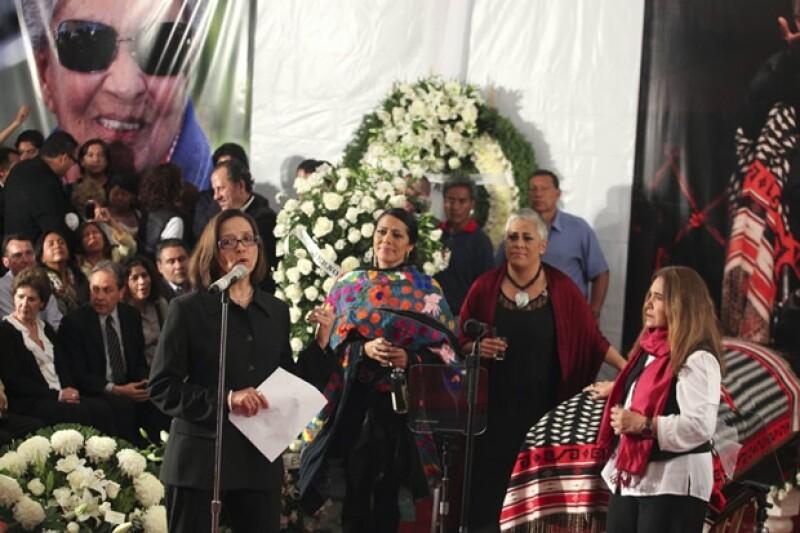 Homenaje en Garibaldi para Chavela Vargas.