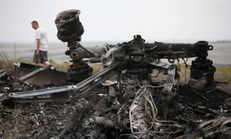 Ayer jueves, el incidente de la aeronave golpeó a los mercados internacionales. (Foto: Reuters)