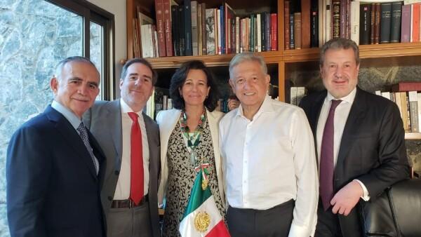 Ana Botín AMLO Santander