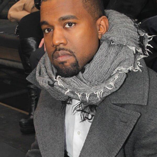 Continuando con el clan Kardashian, Kanye West también ocupa un lugar en este top.