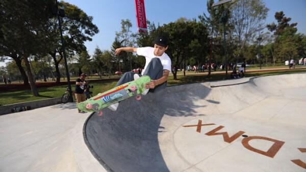 El Bosque de Chapultepec estrena Skatepark