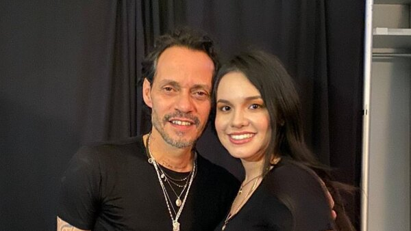 Marc Anthony y Sarita Sosa