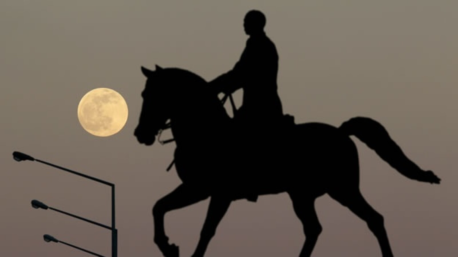 Eclipse total de luna visto desde La Habana