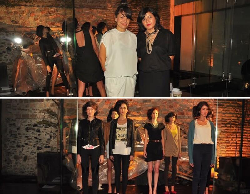 Las diseñadoras mexicanas Julia y Renata presentaron su colección con un súper show en el Hotel Demetria.