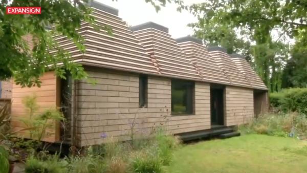 Esta es la primer vivienda hecha de corcho