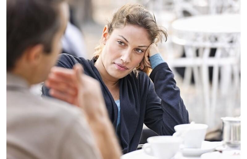 La comunicación es básica para un date exitoso.