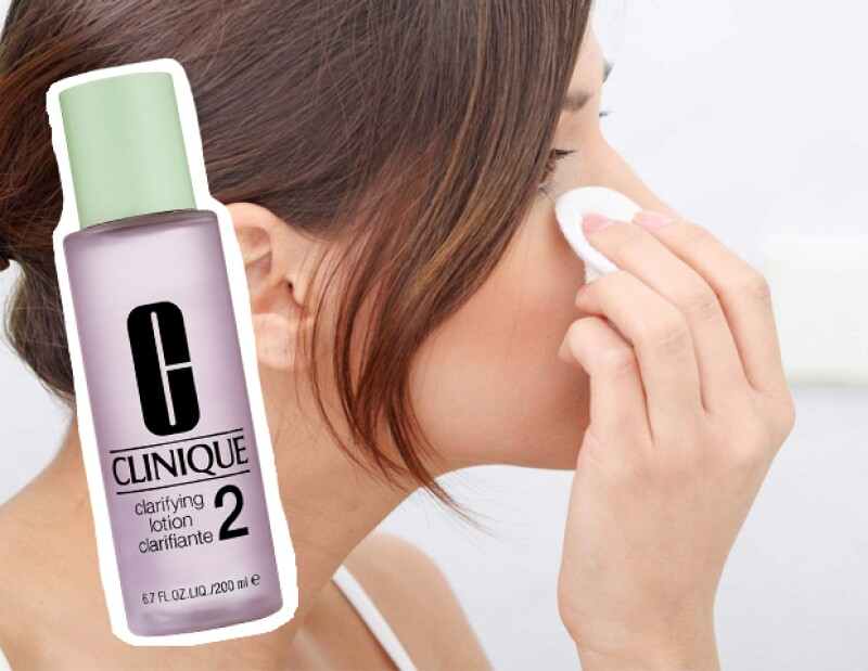 Clinique Clarifying Lotion 2. 290 pesos. clinique.com.mx
