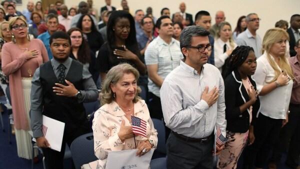Nacidos en el extranjero Estados Unidos EU migrantes