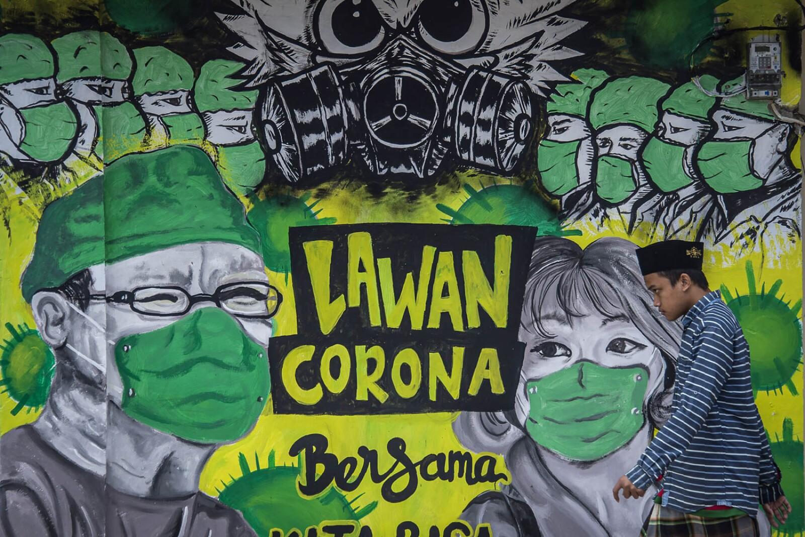 Héroes frente al coronavirus