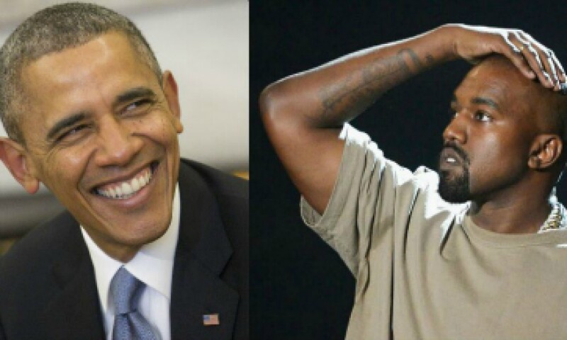 Obama le advirtió a West sobre sus posibilidades de llegar a la presidencia. (Foto: Getty Images )