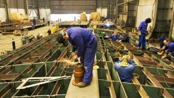 Trabajador en astillero