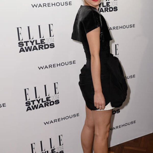 Con estilo y clase durante los Elle Style Awards 2014.