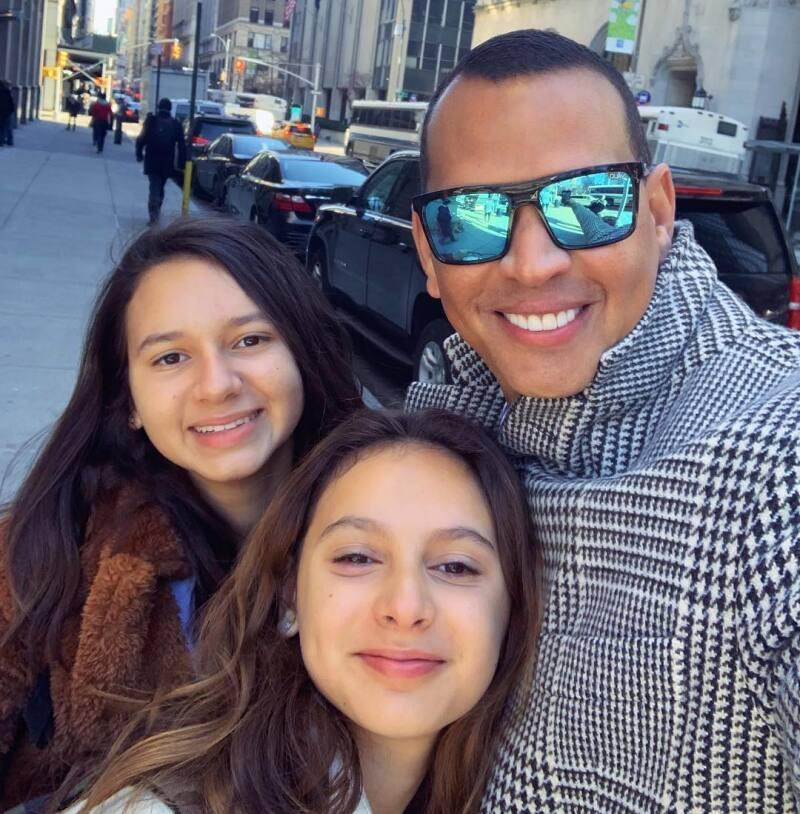 Alex Rodriguez hijas
