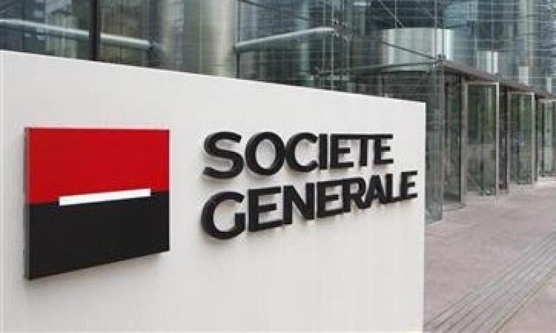 Moody's bajó la deuda a largo plazo de Societe Generale en un escalón a A1. (Foto: Reuters)