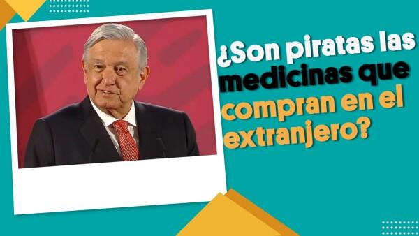 ¿Son piratas las medicinas que compran en el extranjero? | #EnSegundos ⏩