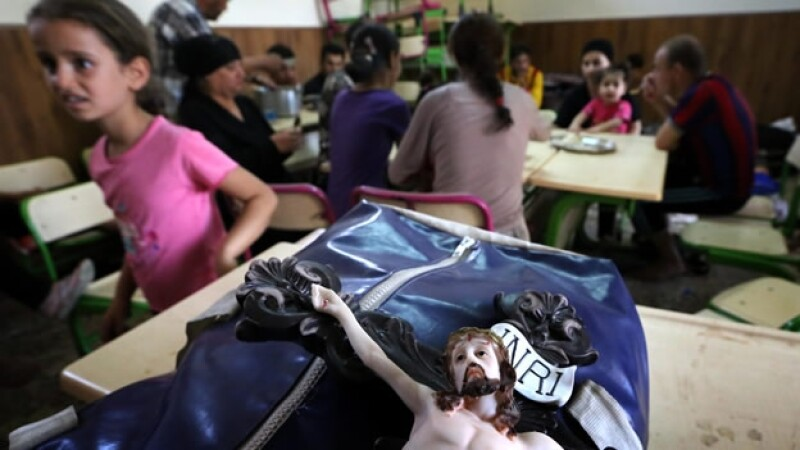 cristianos, iraq, isis