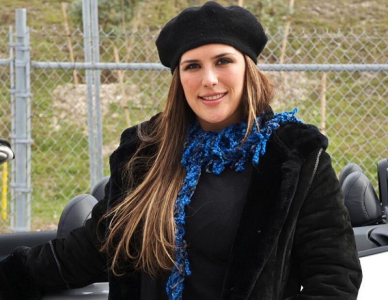 En entrevista con Javier Poza, la actriz platicó que fue su esposo, Otto Padrón quien cortó el cordón umbilical.