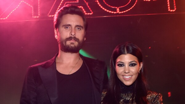 Scott Disick y Kourtney Kardashian