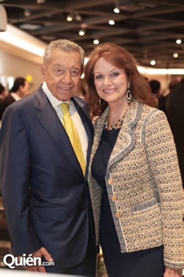 Entre los invitados VIP estuvieron Miguel Alemán y su esposa Christiane Magnani.