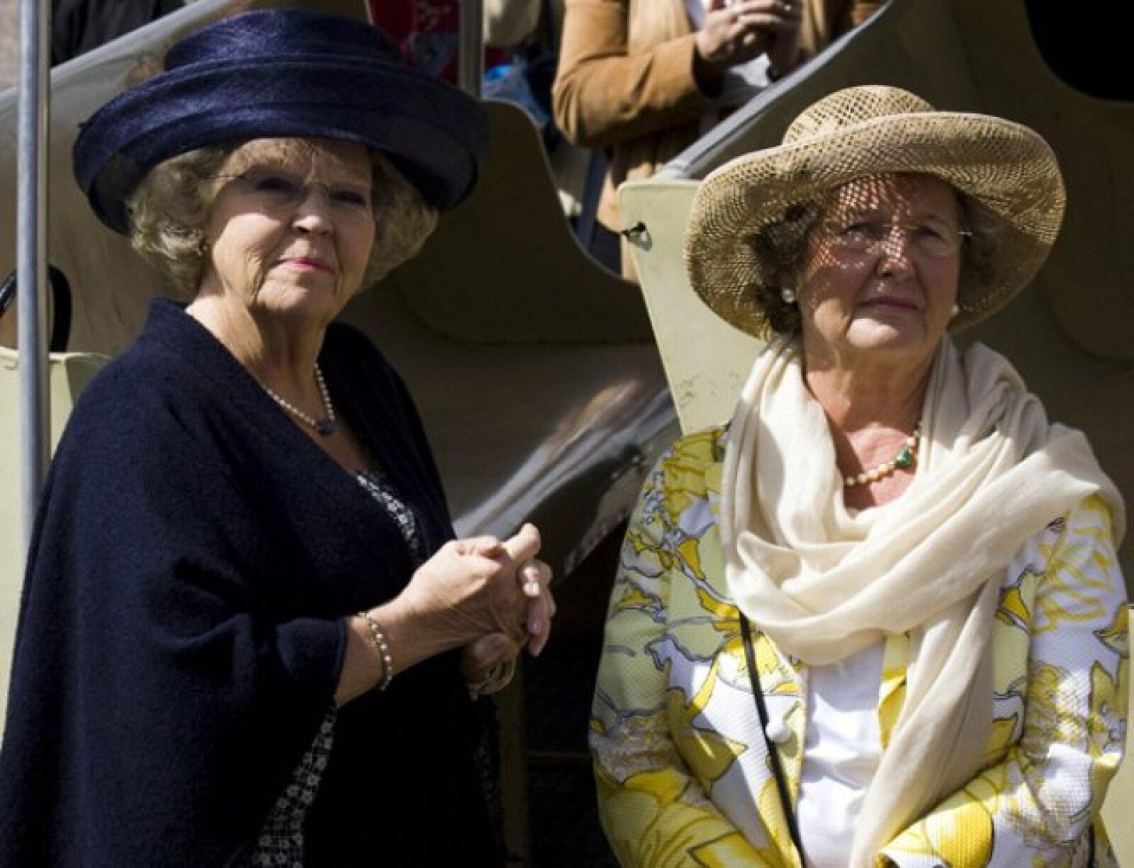 Los miembros de la realeza visitaron las pirámides del Sol y de la Luna y la Calzada de los Muertos.