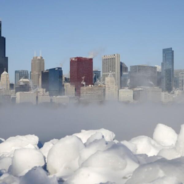 El frente de aire del Ártico afecta a la región central de Estados Unidos y genera las temperaturas más bajas en dos décadas en ese país.