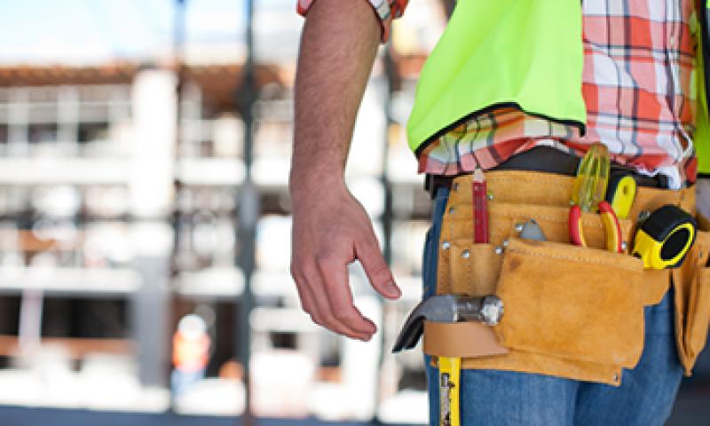 El sector de la construcción tuvo una caída trimestral de 2.8%. (Foto: Getty Images)