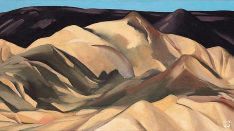 Near Abiquiu, New Mexico (1931), de Georgia O'Keeffe