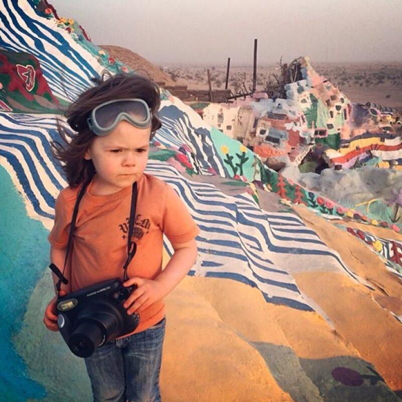 Hawkeye Huey, el niño con miles de seguidores en Instagram, ha causado sensación por ser el fotoreportero más joven de National Geographic.