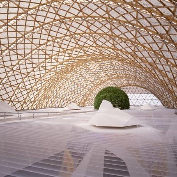 Pabellón Japonés de la Expo 2000 de Hannover (Pritzker Academy)