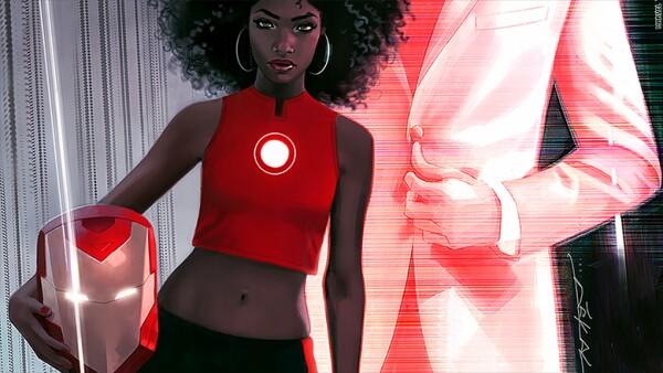 El más reciente cambio de Marvel es la inclusión de Riri Williams para ocupar el traje de Iron Man.