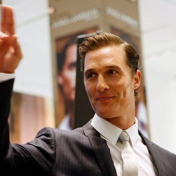 Matthew McConaughey. El actor estudió leyes en la Universidad de Texas.