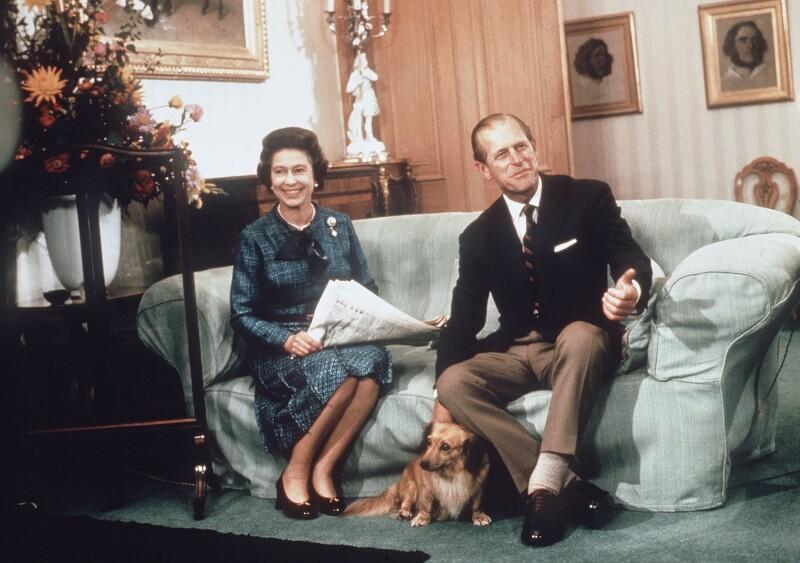 Los perros consentidos de la familia real británica