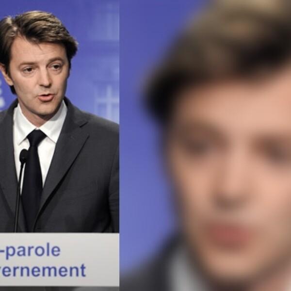 Francois Baroin vocero Francia