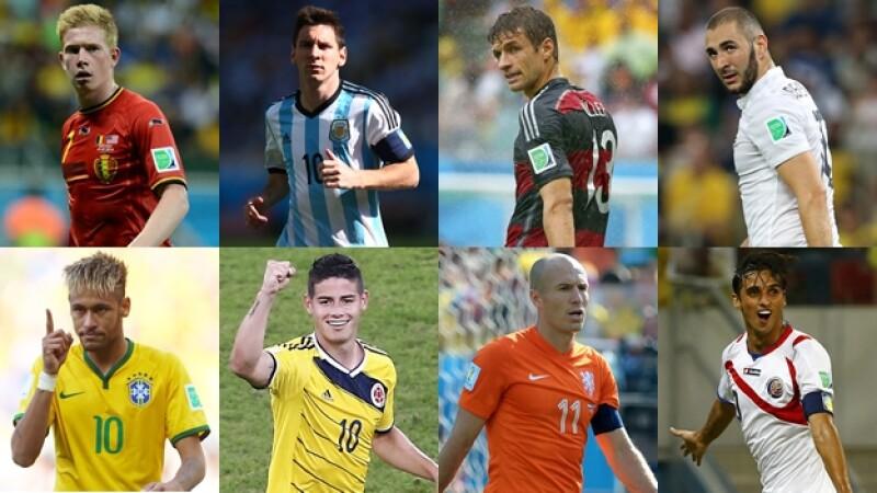 cuartos final mundial brasil