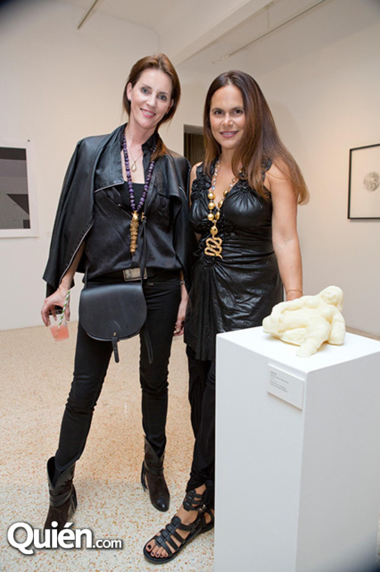 Piret Johanson y Sandra Chartouni