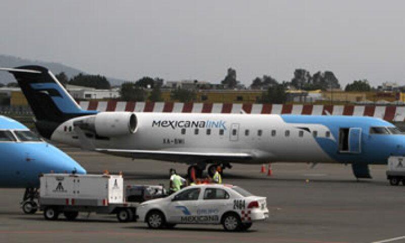 Siete de los aviones en prenda están en la Ciudad de México y dos en Guadalajara. (Foto: AP)