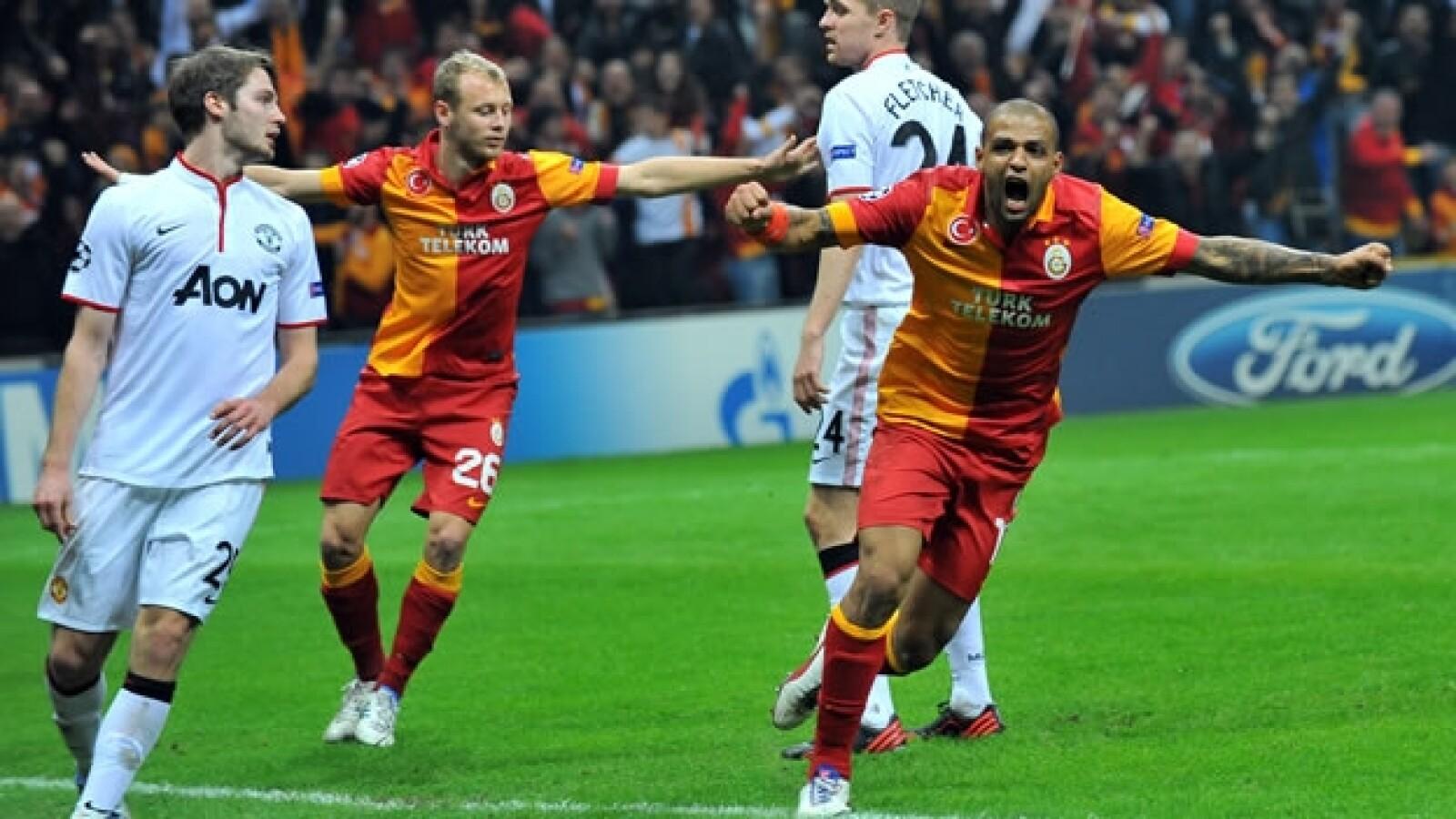 Manchester United pierde ante el Galatasaray