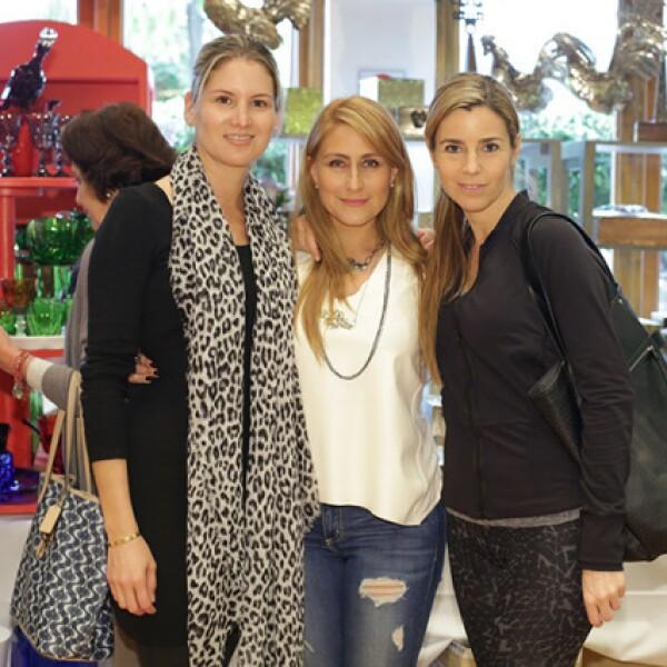 Liliana Terán,Claudia Zamudio y Yalinne Rossell