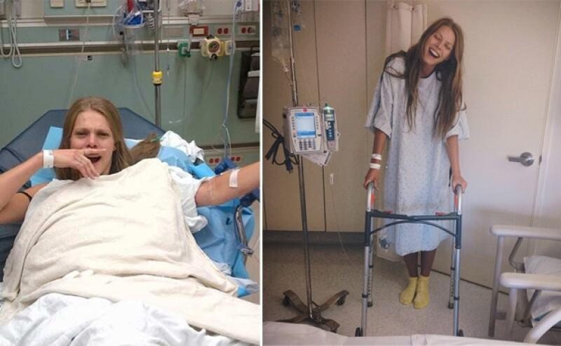 Megan Hawkins compartió que fue una de las personas heridas en el tiroteo que sucedió en una fiesta organizada por Chris Brown, previo a la noche de los MTV.