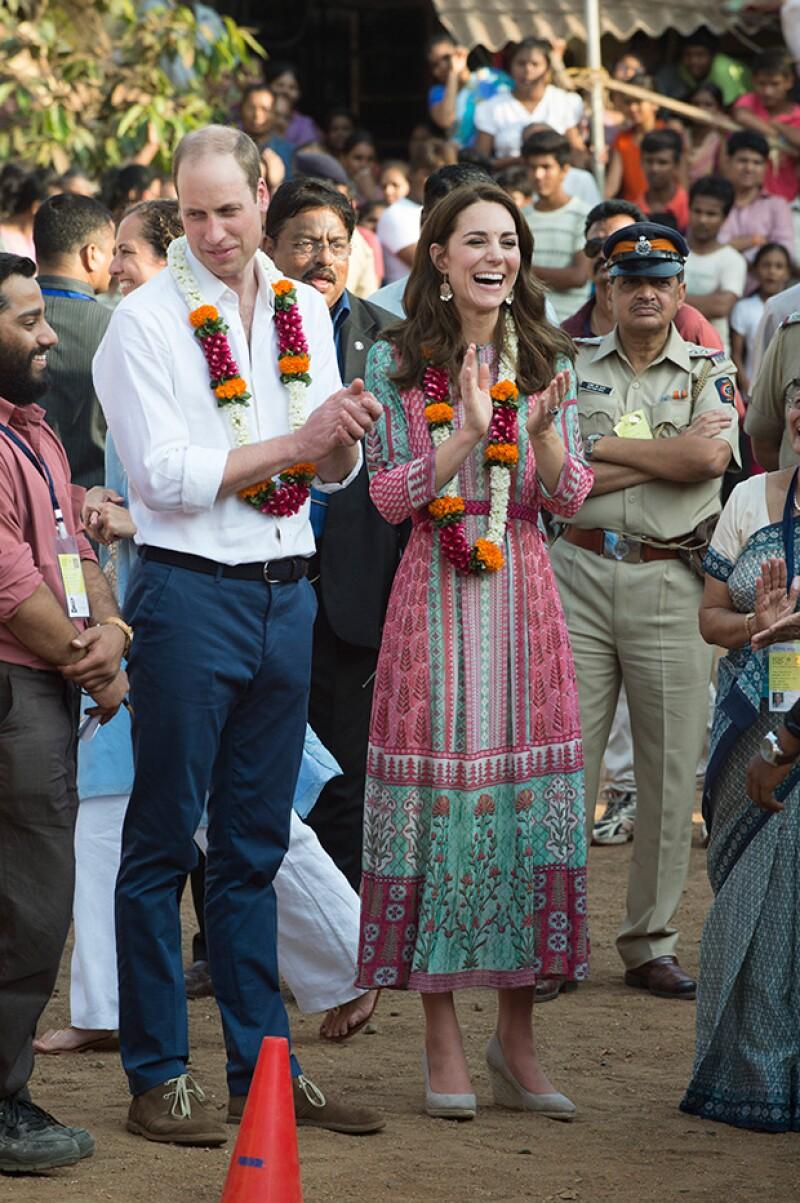 Bombay es el primer lugar que han visitado.