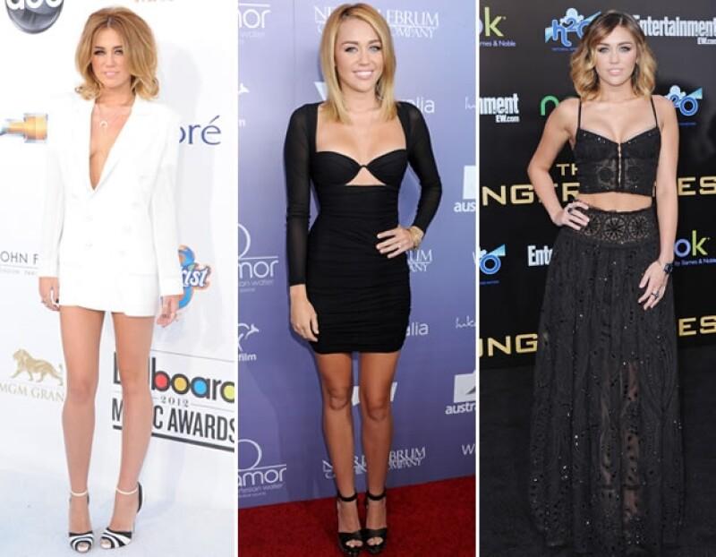 El 2012 fue consierado el año más `sexy´ de Miley.
