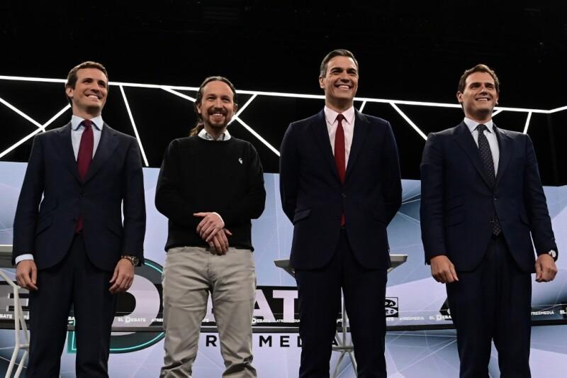 Los candidatos.