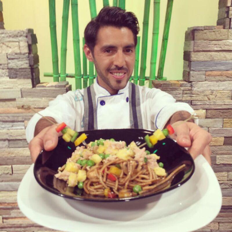 El Chef Yogui se preocupa por una alimentación que realmente sea provechosa.