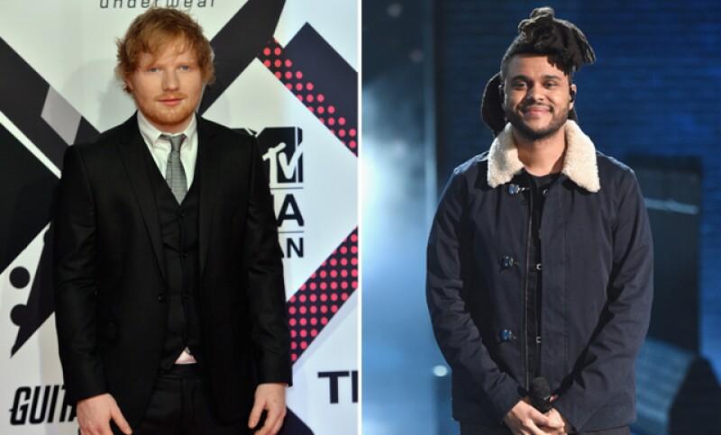 Ed Sheeran y The Weeknd son otros fuertes contendientes en la premiación.