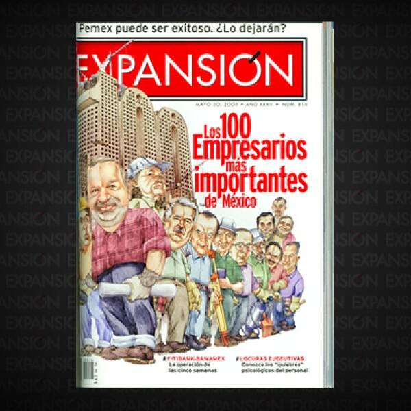 Las empresas de Slim valen cinco veces más que Banamex. Un año antes entraron al país los grupos españoles BBVA a través de Bancomer, y Santander Central Hispano con Serfin.