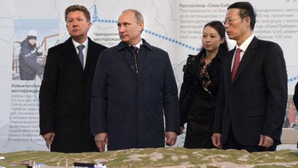 Gasoducto ruso hacia China