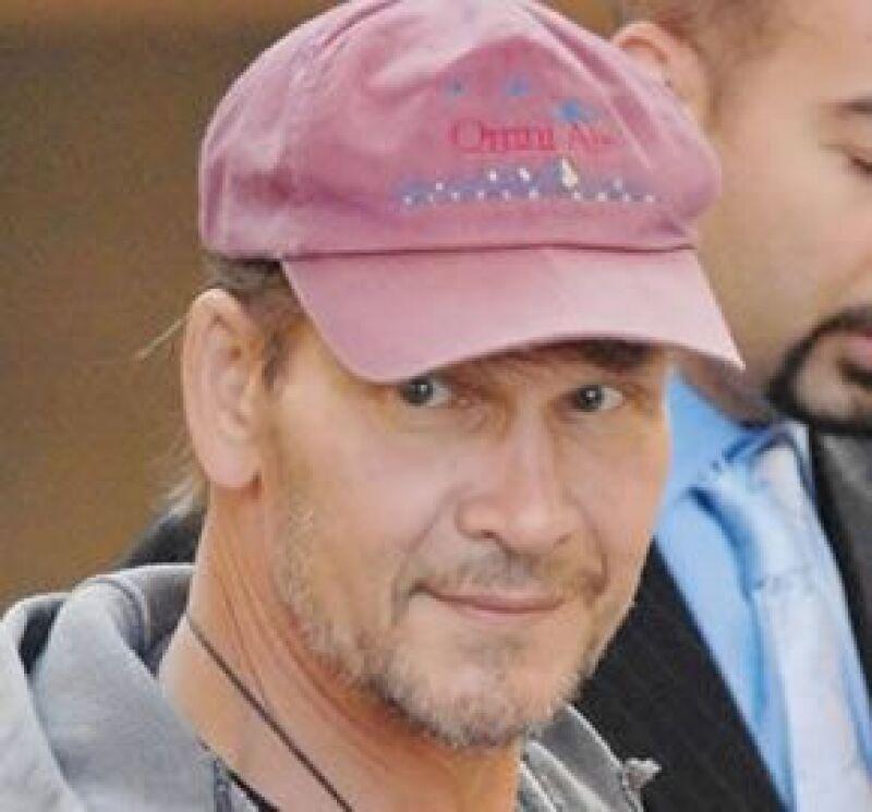 El actor dijo que su estado de salud está mejor, después de haberse internado hace algunos días.