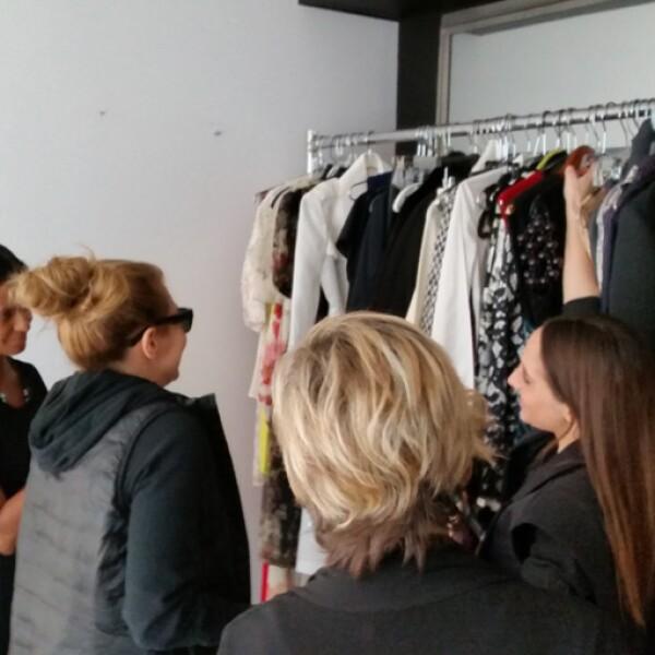 Las coordinadoras de moda Mabel Guaida y Mina, estuvieron a cargo de los outfits.