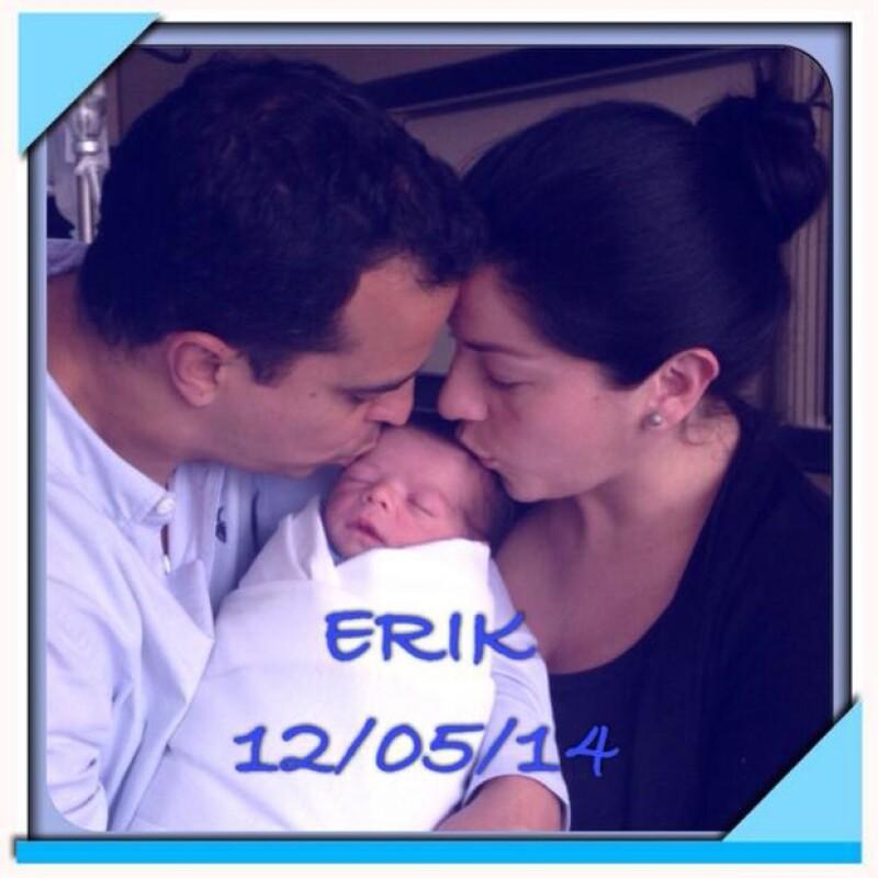 La cantante de OV7 nos cuenta cómo está llevando esta importante parte de su vida al lado de su hijo de Erik, quien nació hace mes y medio.